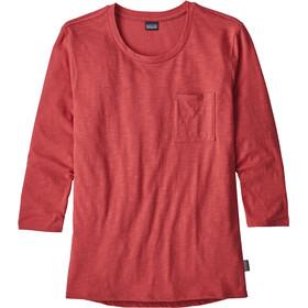 Patagonia Mainstay t-shirt Dames rood